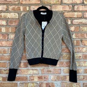 Zara Knit cardigan sweater